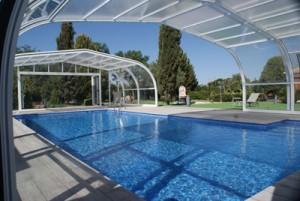 VEGAMETAL abri de piscine