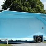 piscine enterré en coque polyesther